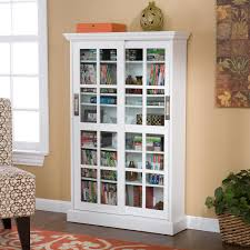 com sliding door media cabinet white kitchen dining tall storage tower with glass doors creative cabinets decoration view larger furniture tv