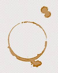 coffee ring transparent background.  Transparent Coffee Tea Stain Ring Digital Stamp Digi By InthePublicDomain Throughout Coffee Ring Transparent Background E