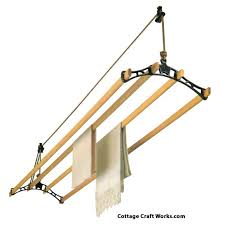 retractable clothes drying rack