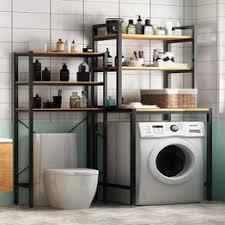 Balcony washing machine rack floor storage shelf above the ... - Vova