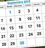 Avance Del Calendario Ferial De Septiembre Mercacei
