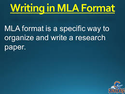 Sample Paper Formatted in MLA Style from OWL Purdue