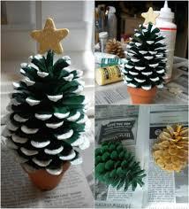 DIY Pinecone Tree  Pine Cone Holiday CraftsPine Cone Christmas Tree Craft Project