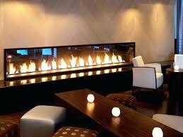 gas fireplaces long fireplace narrow
