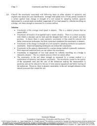 Foundation Design Coduto 3rd Edition Solution Manual For Foundation Design 3rd Edition By Coduto