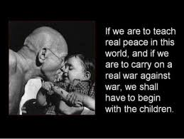 Gandhi Quotes On Peace Best Gandhi Quotes Gandhi Children And Peace Montessori Peace