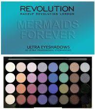 makeup revolution 32 eyeshadow paleta cieni do powiek mermaids forever 16g