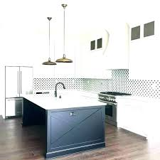 best backsplash for white cabinets with white cabinets white and black tile kitchen with cement granite