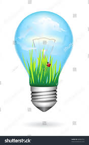 Clean Light Bulb Clean Energy Light Bulb Bright Sky Stock Image Download Now