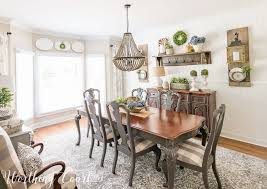 shiplap dining room farmhouse dining room makeover reveal before and after