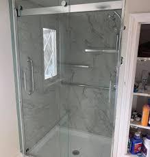custom kohler luxstone walk in showers
