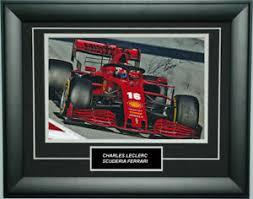 The thrustmaster ferrari f1 wheel is a superb addon for any f1 and ferrari fans. Charles Leclerc Signed 8x12 Inches 2020 Ferrari F1 Photo Frame Ebay