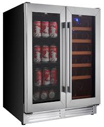 large wine refrigerator. Simple Large Picture Of Large Beverage Centre And Wine Cooler Cabinet Dual Zone Inside Refrigerator