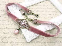 <b>Чокер с</b> бронзовой фурнитурой. | <b>Чокер</b> | Jewelry, Gothic Jewelry ...