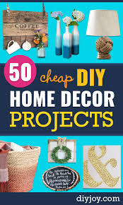 50 diy home decor projects that