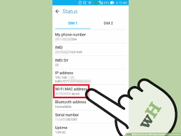 Address By Phone How To Find The Wifi Mac Address On An Android 5 Steps