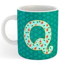 Alphabet Q Mug
