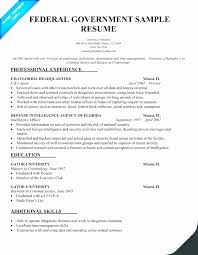 Federal Government Resume Examples Gorgeous How Long Work Experience On Resume For Government Job Fresh Samples