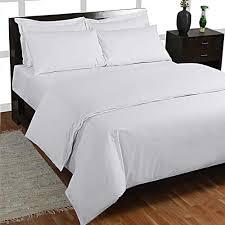 organic cotton continental duvet cover set white cream