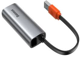 <b>Сетевая карта Хаб USB</b> Baseus Steel Cannon Series USB A ...