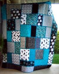 Big Block Quilt Patterns Stunning The Big Block Quilt Pattern Designed By Minay Studios From Black