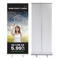 Retractable Display Stands 100100 x 100 Inch Retractable Banner Stand with No Curl Custom Graphic 4