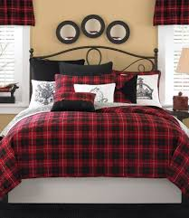 bedroom red plaid bedroom plaid bedding