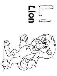 Download Coloring Pages Letter L Is For Leaf Learning Page Kids