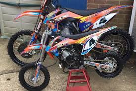 cash reward offered after three valuable motocross bikes stolen