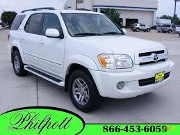 2006 Natural White Toyota Sequoia Limited #16904536 | GTCarLot.com ...
