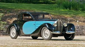 The bugatti type 57 and later variants (including the famous atlantic ) was an entirely new design by jean bugatti , son of founder ettore. 1937 Bugatti Type 57 Ventoux Coupe S146 Monterey 2011