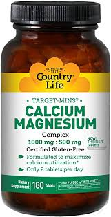 Calcium Magnesium Complex 1000mg and 500mg ... - Amazon.com
