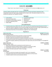 Resume Examples For Retail Sales Associate Resume Template For Retail Sales Associate Resume Sample