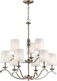 kichler 43393ap versailles antique pewter chandelier light loading zoom