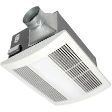 Panasonic Whisperwarm 110 Cfm Ceiling Exhaust Bath Fan With Light Best Bathroom Fan Quiet