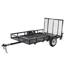 small expensive items at lowes. Unique Items CarryOn Trailer 5ft X 8ft Wire Mesh Utility With With Small Expensive Items At Lowes V