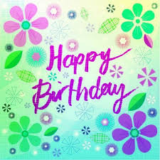 Happy Birthday Purple Font Pictures Photos And Images For Facebook