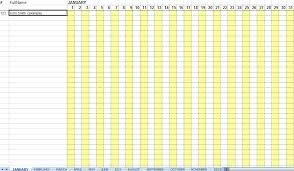 Attendance Chart Printable - April.onthemarch.co