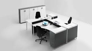 white walnut office furniture. Elegant White Office Furniture With Gray Color Combination And Black Chair As Well File Cabinet Walnut