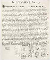 Peter S Blog The Making Of The Declaration Of Independence