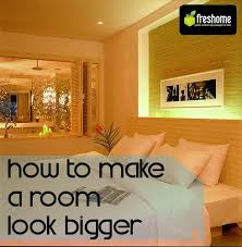 Small Picture 5 Tips for Fooling the Eye and Making a Room Look Bigger