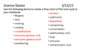 Science Starter 13 15 Use The Following Terms To Create A