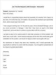 How To Write A Requirement Letter 43 Transfer Letter Templates Pdf Doc Excel Free Premium