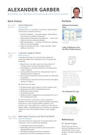 Resume Template Libreoffice