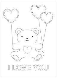 Bear With Heart Drawing At Getdrawingscom Free For Personal Use