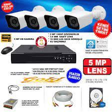 Güvenlik Kamerası Sistemleri Fiyatları