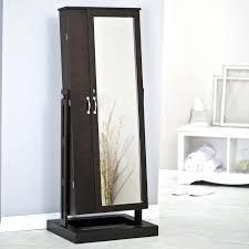 floor jewelry armoire standing