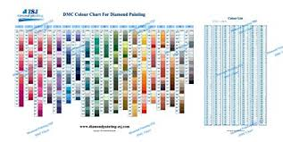 Dmc Color Chart For Diamond Painting The Complete Table 2019 Dmc All Color Card