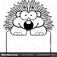 Small Picture Porcupine Clipart 1136376 Illustration by Cory Thoman