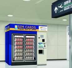 Sim Card Vending Machine New Prepaid Sim Cards To Be Sold In Airport Vending Machines Niseko